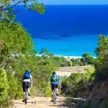 Orosei: in bici nella riserva di Biderosa / Orosei: cycling in Biderosa nature reserve