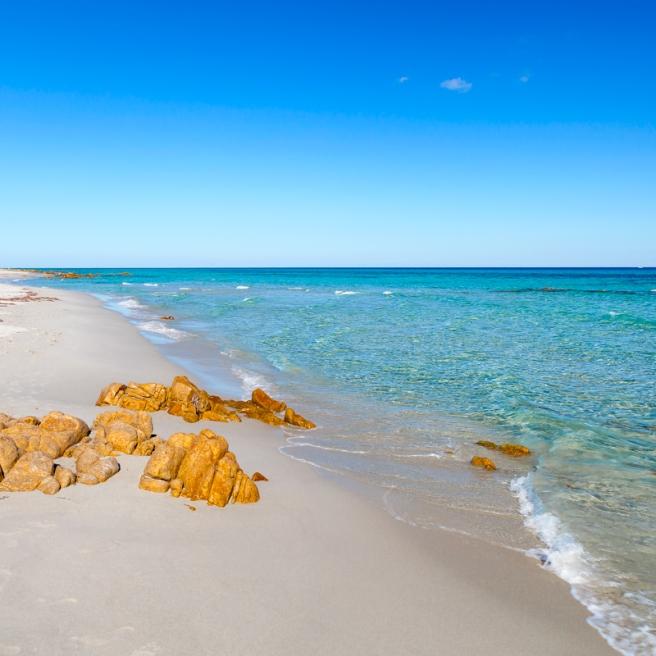 Orosei: spiaggia di Biderosa / Orosei: Biderosa beach